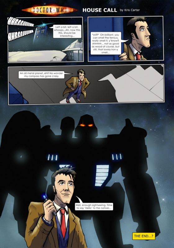 Doctor Who/Transformers Crossover
